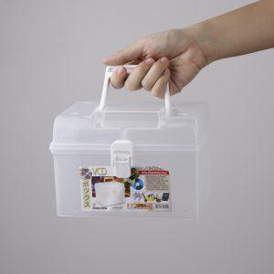 กล่องหูหิ้วอเนกประสงค์ คละสี MICRON WARE #2504