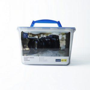 Super Lock กล่องใส่กล้องสูญญากาศ พร้อมฟองน้ำกันกระแทก ความจุ 8500 มล. รุ่น ปราศจากสารก่อมะเร็ง (BPA Free) รุ่น 5050