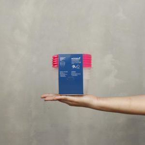 Super Lock กล่องใส่อาหาร Chef Box ทรงกลม 300 มล. แพ็ก 5 กล่อง 10 ชิ้น ปราศจากสารก่อมะเร็ง (BPA Free) สีชมพู รุ่น 6061