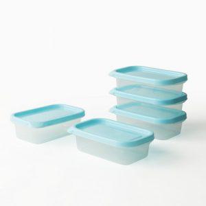 Super Lock กล่องใส่อาหาร Chef Box ทรงผืนผ้า 225 มล. แพ็ก 5 กล่อง 10 ชิ้น ปราศจากสารก่อมะเร็ง (BPA Free) รุ่น 6071