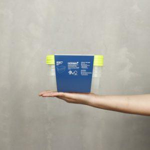 Super Lock กล่องใส่อาหาร Chef Box ทรงผืนผ้า 600 มล. แพ็ก 4 กล่อง 8 ชิ้น ปราศจากสารก่อมะเร็ง (BPA Free) รุ่น 6072