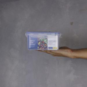 Super Lock กล่องอาหาร พร้อมช่องแบ่ง 3 ช่อง ความจุ 2900 มิลลิลิตร #6116-3