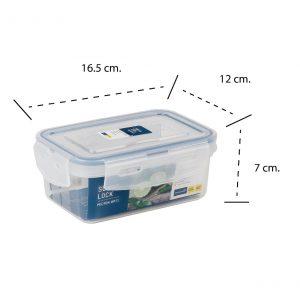 กล่องอาหาร Premium ความจุ 600 มิลลิลิตร Super Lock #6855-1