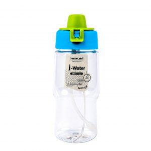 Super Lock กระบอกน้ำพลาสติก ความจุ 380 มล. ปราศจากสารก่อมะเร็ง (BPA Free) สีเขียว รุ่น 5263