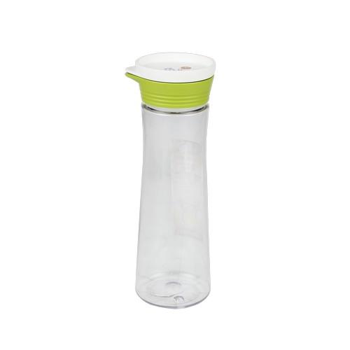 Super Lock กระบอกน้ำพลาสติก ความจุ 1000 มล. ปราศจากสารก่อมะเร็ง (BPA Free) สีเขียว รุ่น 5271