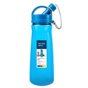 Super Lock กระบอกน้ำพลาสติก ความจุ 1600 มล. ปราศจากสารก่อมะเร็ง (BPA Free) สีฟ้า รุ่น 5292