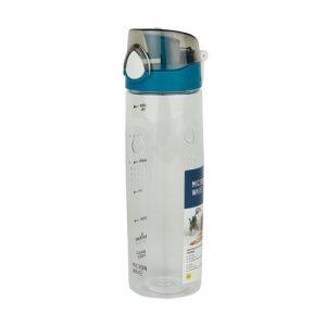 Super Lock กระบอกน้ำพลาสติก ความจุ 650 มล. ปราศจากสารก่อมะเร็ง (BPA Free) สีฟ้า รุ่น 5298