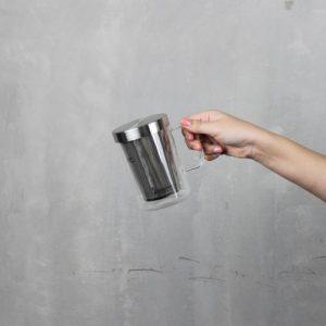 Super Lock แก้วชงชา พร้อมที่กรองชา 500 มล. มีหูจับ ปลอดสารก่อมะเร็ง BPA-Free รุ่น 5539