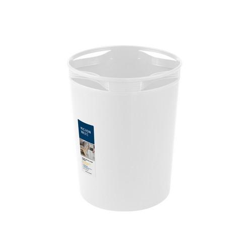 Micronware ถังขยะพลาสติก ความจุ 10 ลิตร มีตัวล็อคถุงขยะ รุ่น 5650