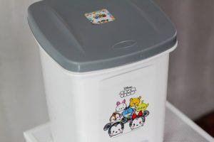 Micronware ถังขยะแบบเท้าเหยียบ ลายลิขสิทธิ์แท้ Disney Tsum Tsum ปราศจากสารก่อมะเร็ง (BPA Free) รุ่น 5667