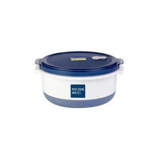 Micronware กล่องใส่อาหาร ทรงกลม ความจุ 1750 มล. ปราศจากสารก่อมะเร็ง (BPA Free) รุ่น 6037