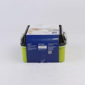 Super lock กล่องอาหาร 2 ชั้น 1550 มล. ล็อค4ด้าน มีซิลิโคนกันหก ป้องกันแบคทีเรีย BPA Free รุ่น 6194