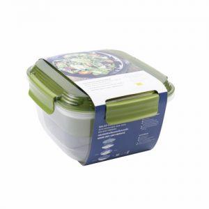 Micronware กล่องอาหาร พร้อมแผ่นเก็บความเย็น ความจุ 1800 มล. ปราศจากสารก่อมะเร็ง (BPA Free) รุ่น 9199