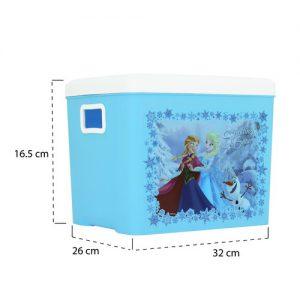 Micronware กล่องอเนกประสงค์ ลายลิขสิทธิ์ Frozen ปราศจากสารก่อมะเร็ง (BPA Free) รุ่น K-88