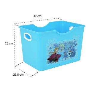 Micronware กล่องอเนกประสงค์ ลายลิขสิทธิ์ Frozen แพ็ค 2 กล่อง ปราศจากสารก่อมะเร็ง (BPA Free) รุ่น K-08